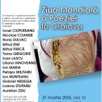 Afis Craiova - 21 martie 2016