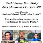 Afis Suceava -  21 martie 2016