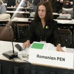 Magda Carneci la Congresul PEN