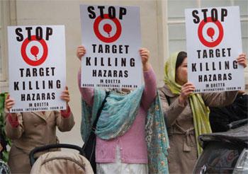 Stop Killing Hazaras